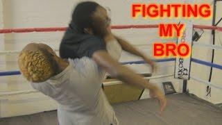 FIGHTING MY BRO!!