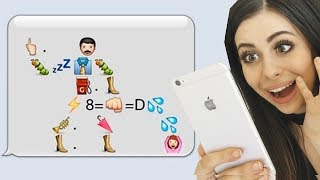 Most Creative Texts With Emojis