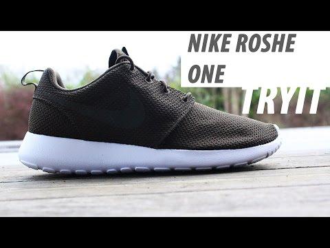 NIKE Roshe one , olive Green unboxing | Tyit |