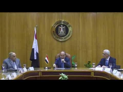 الوزير/عمرو نصار يترأس الاجتماع التنسيقي لتعزيز التعاون بين القطاع الخاص المصري ونظيره بالدول الافريقية