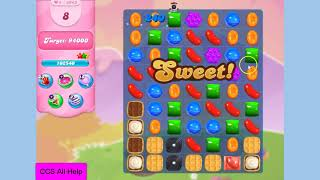 Candy Crush Saga Level 3943 NO BOOSTERS Cookie