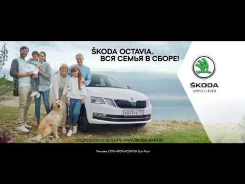 Skoda  Octavia Лифтбек класса C - рекламное видео 8