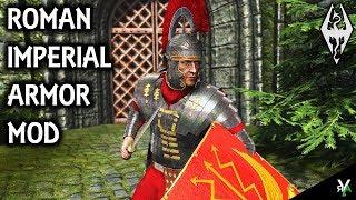 ROMAN IMPERIAL ARMOR: Armor Replacement Mod- Xbox Modded Skyrim Mod Showcase