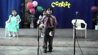 Af Bri Aniel Natividad Sta. Lucia.... 1st Place in the Oration Contest.... Doane Week 2011