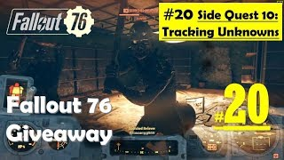 Fallout 76 - Tracking Unknowns | Find Signal booster, Discover fate of Tracking party