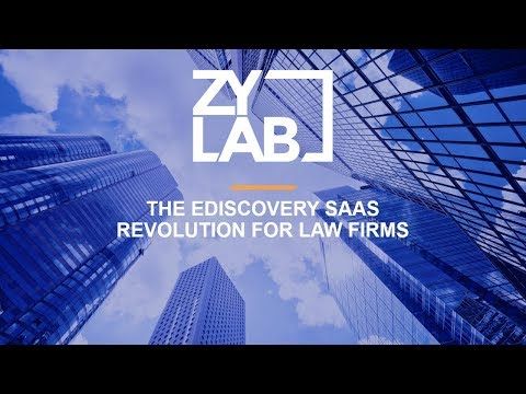 Webinar - The eDiscovery SaaS Revolution for Law Firms