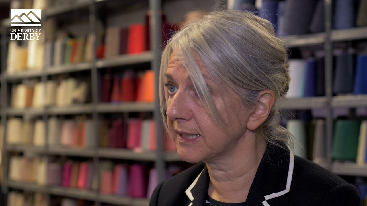 Kay Bolderson, Programme Leader in Fashion and Textiles.