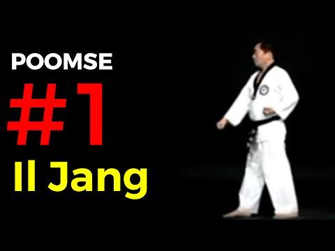Poomse n°1 : Taegeuk Il Jang
