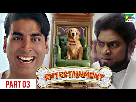 Entertainment   Akshay Kumar, Tamannaah Bhatia   Hindi Movie Part 3 of 10 (видео)