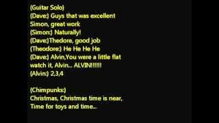 alvin and the chipmunks---christmas don't be late Lyrics.wmv