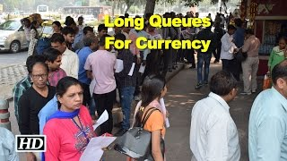 Chaos at banks, post offices to change currency
