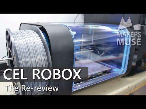 CEL Robox 3D Printer Review – 2016
