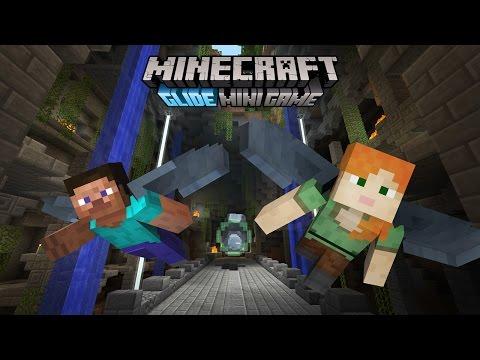 Minecraft Glide Mini Game trailer – coming free to Console Edition!