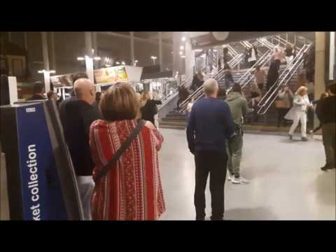 Screaming Evacuees Flee Manchester Victoria Station
