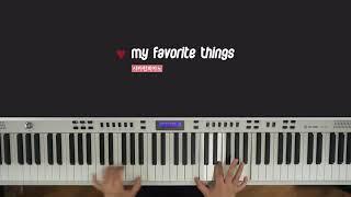 사운드 오브 뮤직 OST 'My Favorite Things'