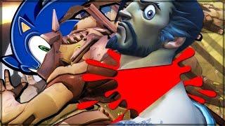 ULTIMATE SPEED COMBAT - Overwatch Custom Game Mode Shenanigans!
