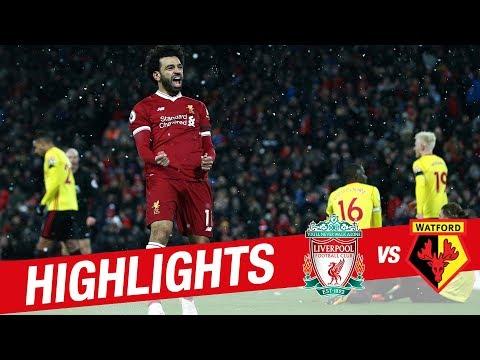 Highlights: Liverpool v Watford | Sensational Salah scores four at Anfield