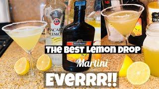 The Absolute BEST Lemon Drop Martini