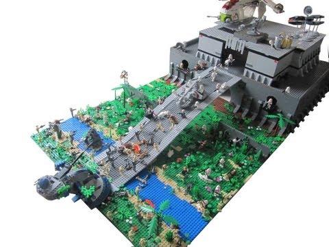 Lego Star Wars The Clone Wars Clone Base On Kashyyyk 20 Moc