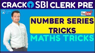CRACK SBI CLERK PRE | Number Series Tricks | Maths Tricks | Online Coaching For SBI