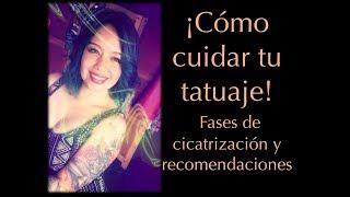 ¡Cuida de tu tatuaje correctamente!