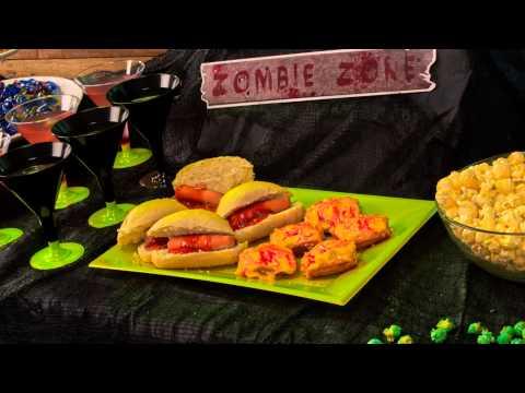 Ideias de receitas halloween tema zombie