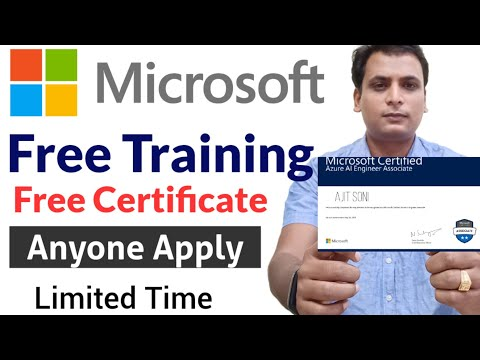 free course with certificate | Microsoft free ai classroom training ...