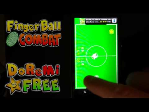 Video of FingerBall Combat Football Fun
