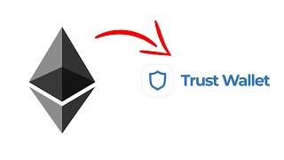 Ethereum zeigt nicht in der Trust-Brieftasche