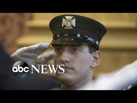 Bruce Springsteen's son sworn in as firefighter