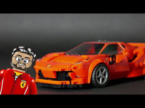 Vidéo LEGO Speed Champions 76895 : Ferrari F8 Tributo