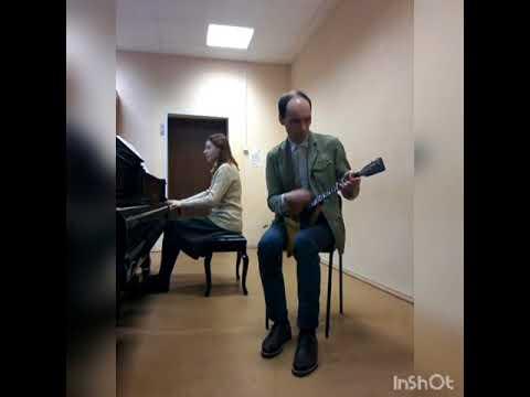 В. Андреев. Вальс-романс. Иннокентий Тютин (балалайка), Инна Медведева (фортепиано).