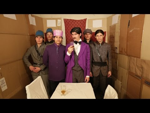 The Wolfpack does The Grand Budapest Hotel