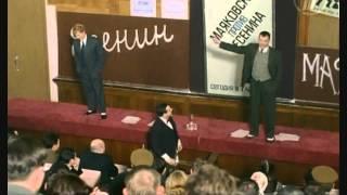 Встреча Есенина и Маяковского по версиям отечественных киношников