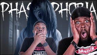 The Grudge Girl KILLED My Friends! (Phasmophobia)