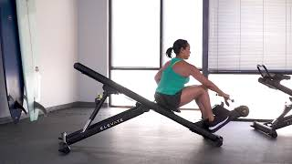 Row with Twist (Single Arm)