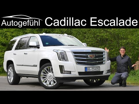 Cadillac Escalade FULL REVIEW - Autogefühl