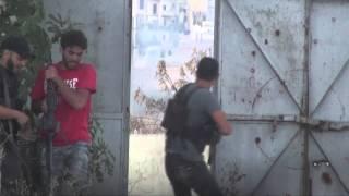 عملية ضرب حاجز الرام في مدينة إدلب 27/7/2013