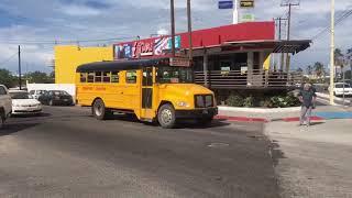 Peceras o camiones pasándose los altos y hablando por celular en La Paz
