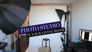 Setup Photography Studio At Home | Wall Through & Watchouts