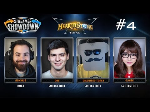 Streamer Showdown #4 Hearthstone (feat. Dog, Disguised Toast, Eloise, And Noxious)