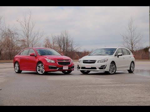 2015 Chevrolet Cruze vs. 2015 Subaru Impreza