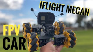 IFlight Mecan FPV car | Review bulid and setup in betaflight