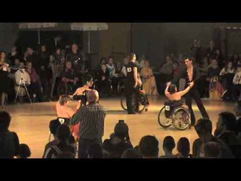 Rolstoeldans finale - amateurs combi 2 Latin