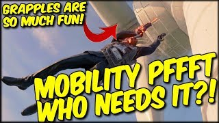 MOBILITY? PFFT DON'T NEED THAT MATE! TURBINE GRAPPLES ARE TOO MUCH FUN! COD BLACKOUT SOLO WIN!