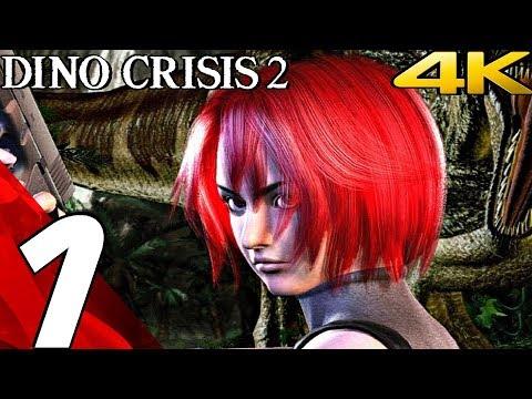 DINO CRISIS 2 HD - Gameplay Walkthrough Part 1 - Prologue [4K 60FPS]