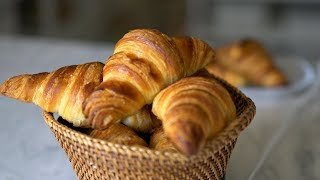 Classic French Croissant Step by Step
