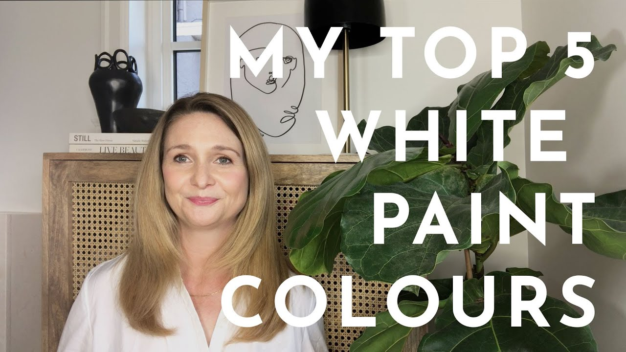 Top 5 White Paint Colors That You Should Paint Your Home