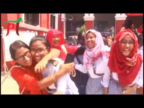 এইচএসসিতে ভালোফল করায় উল্লাসিত রাজশাহী করেজের শিক্ষার্থীরা