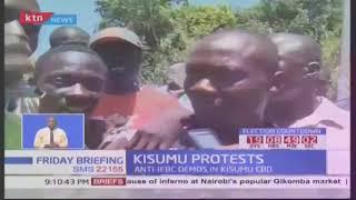 Tumaini Supermarket Kisumu looted during Kisumu protests